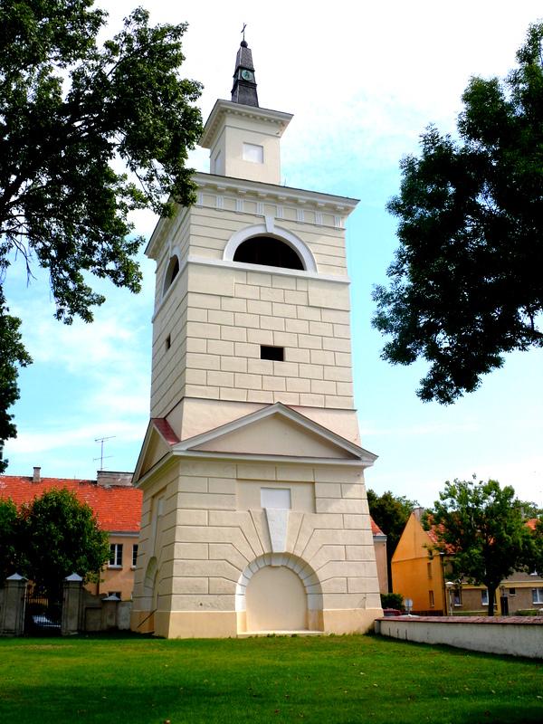 Dzwonnica przy Kolegiacie - widok ogólny