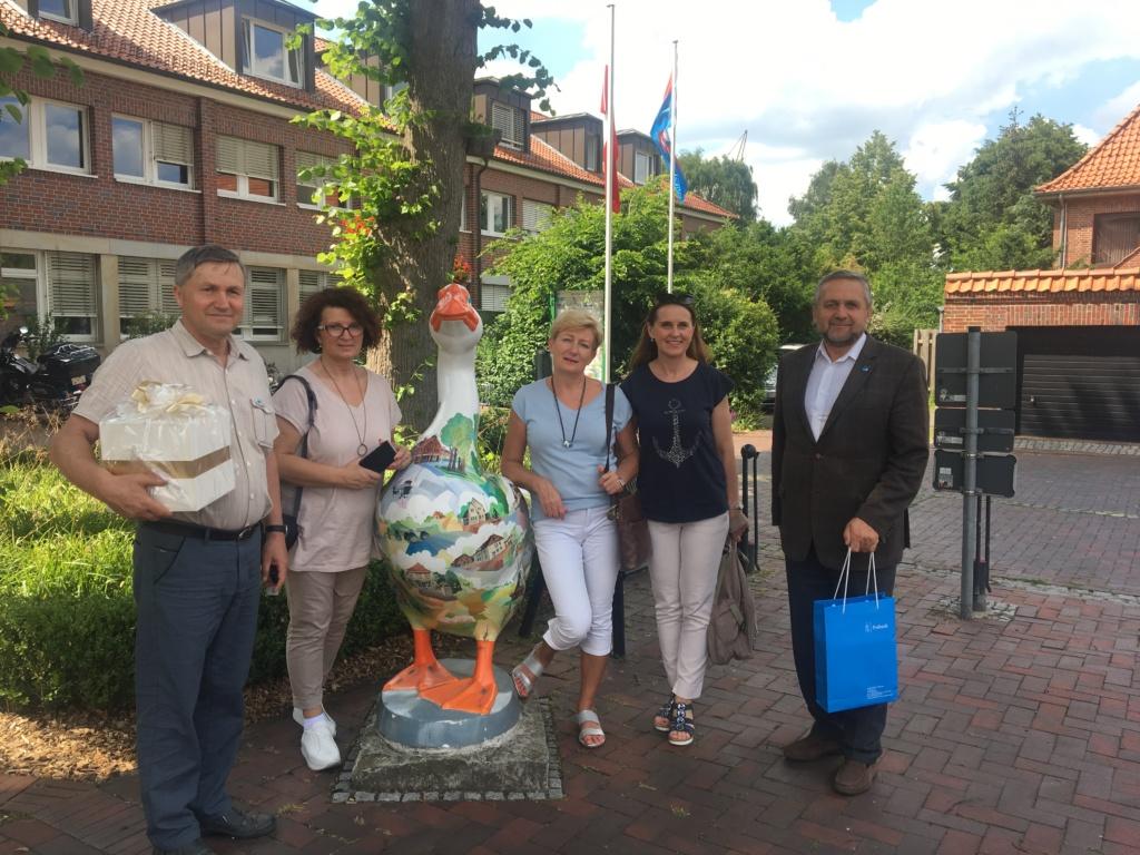 Burmistrz Miasta Pułtusk – Wojciech Gregorczyk z delegacją z Pułtuska podczas wizyty w mieście partnerskim Ganderkesee