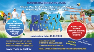 plakat - plaża miejska reklama