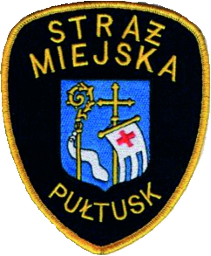 logo straż miejska Pułtusk