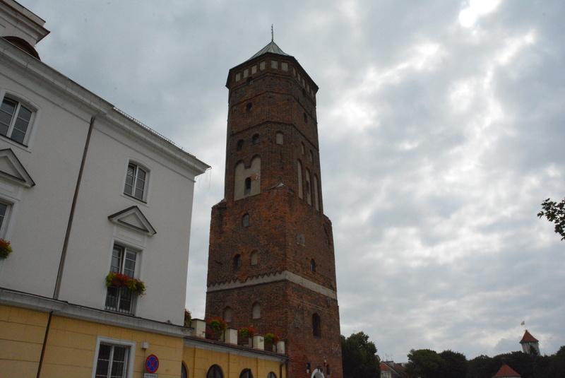 remont wieży ratuszowej - stan przed remontem