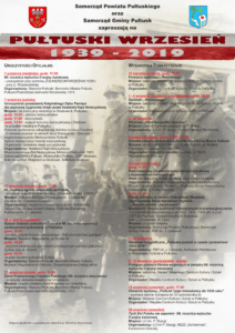 PUŁTUSKI WRZESIEŃ 1939-2019