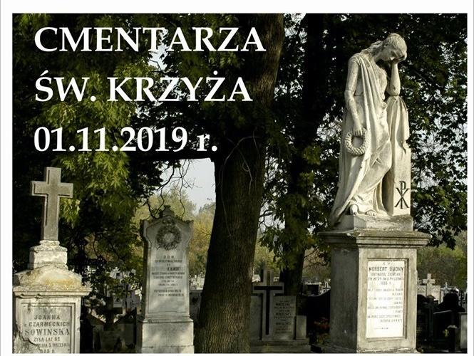 kwesta na pułtuskim cmentarzu - plakat