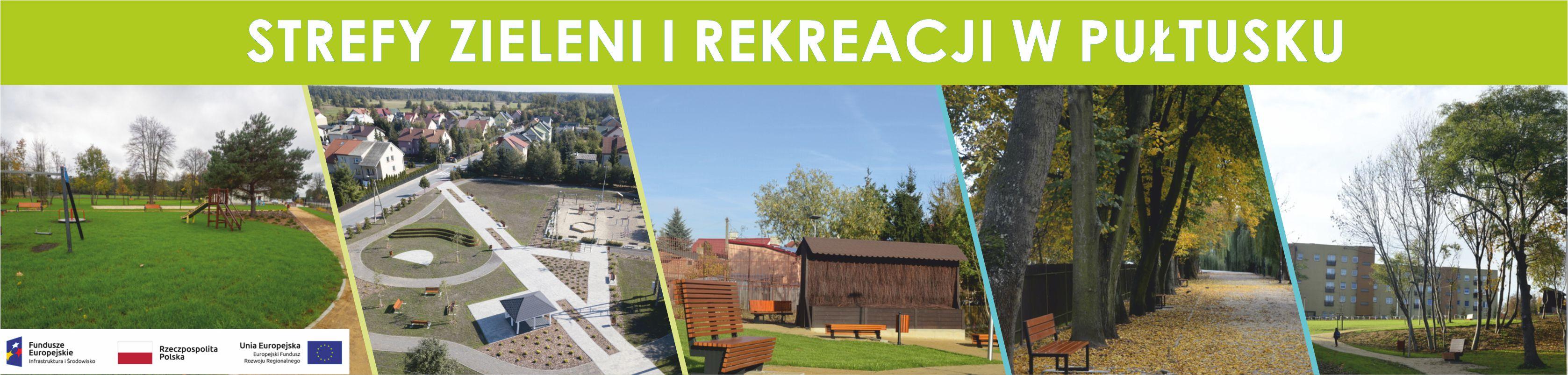 Informacje o projekcie Strefy Zieleni i Rekreacji w Pułtusku