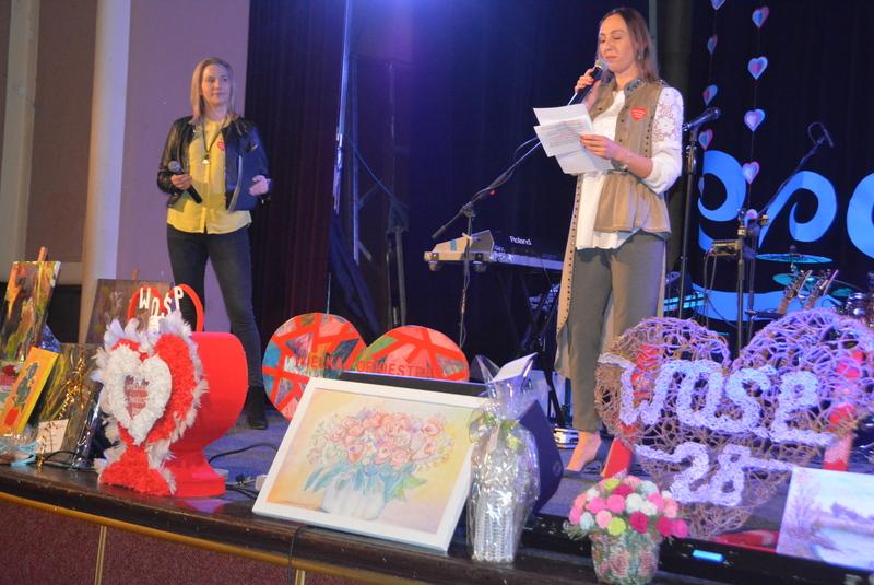 Prowadzące 28. Finał WOŚP w Pułtusku
