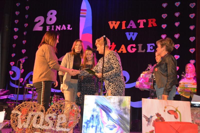 Wręczenie nagród za udział w konkursie