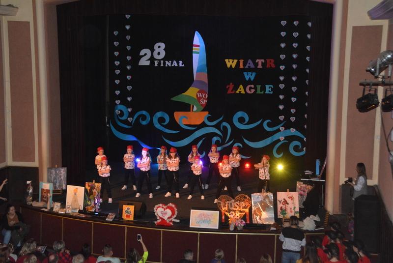 Dzieci ze studia tańca SWAG