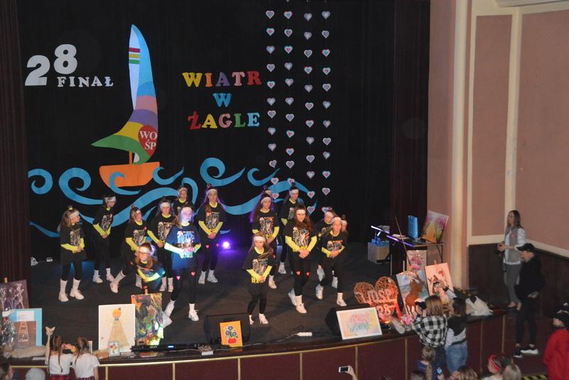 Grupa SWAG na scenie podczas 28. Finału WOŚP