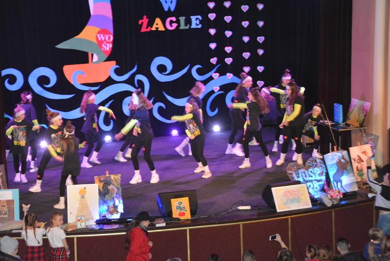 Show w wykonaniu grupy tancznej SWAG