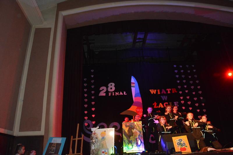 Występ artystyczny podczas 28. Fianłu WOŚP
