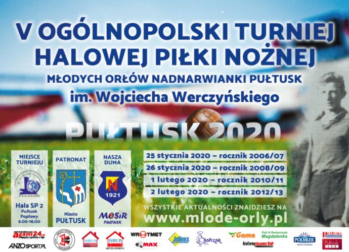 plakat zaproszenie na turniej
