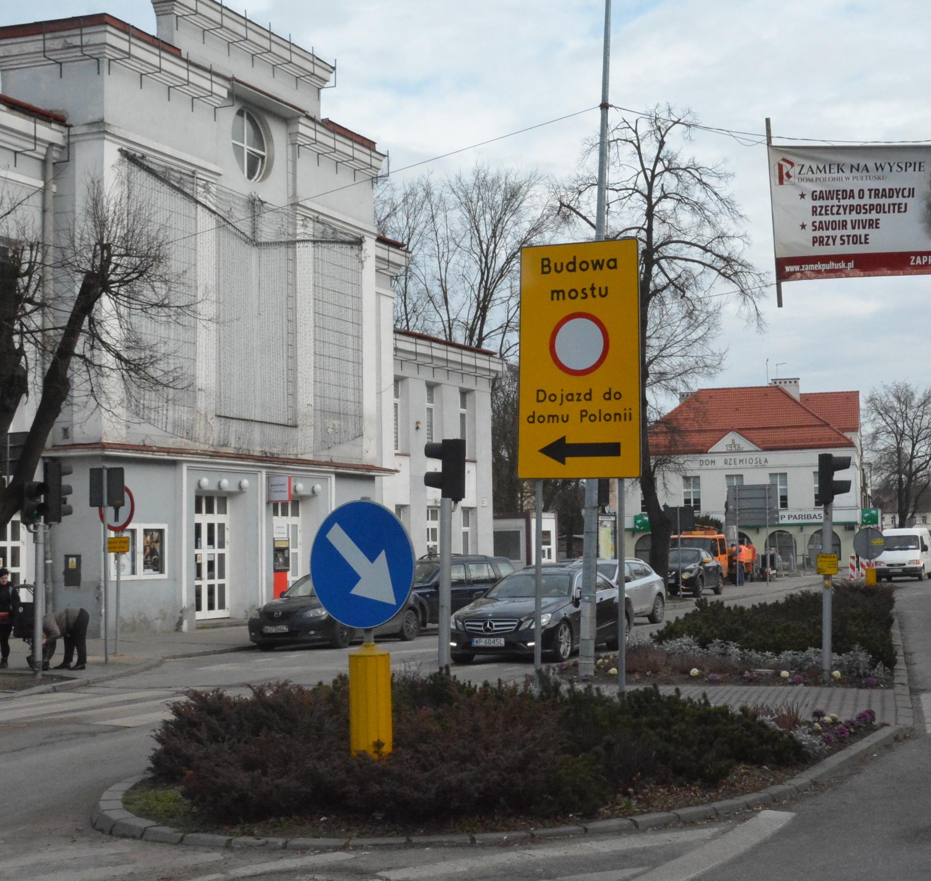 Uwaga – most Świętojański jest wyłączony z ruchu