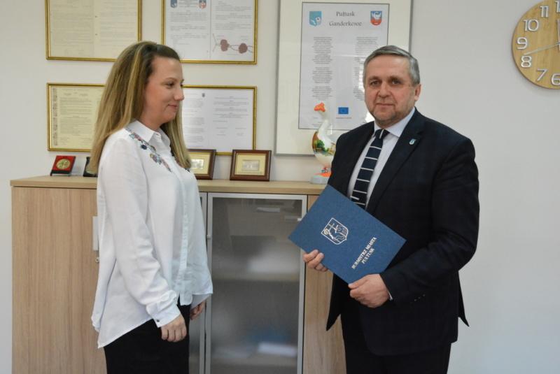 Aleksandra Sklepińska pełniącą obowiązki dyrektora