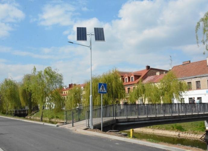 Maszt solarny