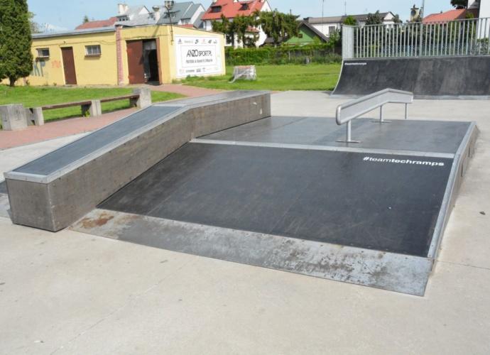 Skatepark po remoncie