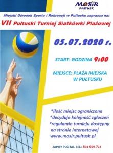 VII Pułtuski Turniej Siatkówki Plażowej