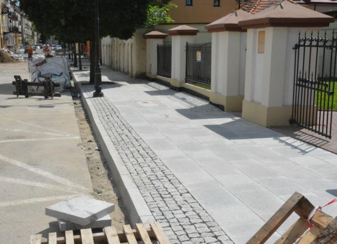 Remont ulic staromiejskich