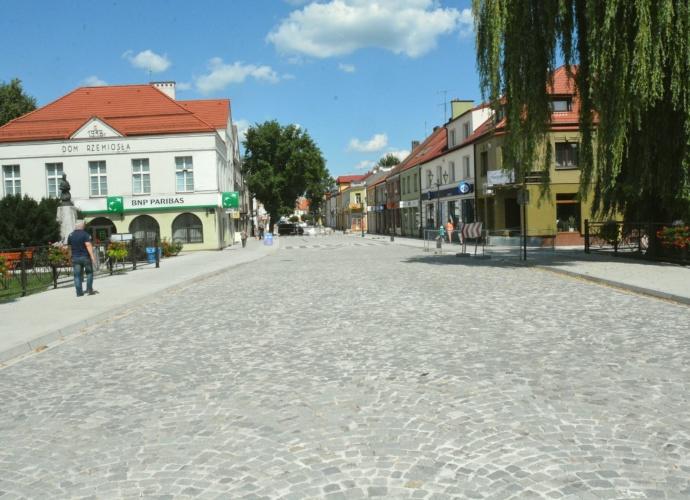 Ulica Świętojańska - koniec remontu