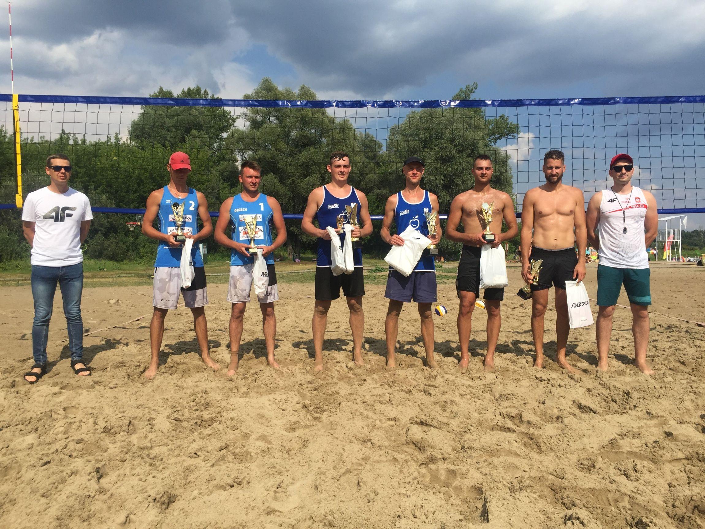 VIII Turniej Siatkówki Plażowej o Puchar Burmistrza Miasta Pułtusk rozstrzygnięty