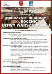 """WYSTAWA PLANSZOWA """"RZECZPOSPOLITA W 1920 R. KONTEKSTY"""" @ Dom Polonii"""
