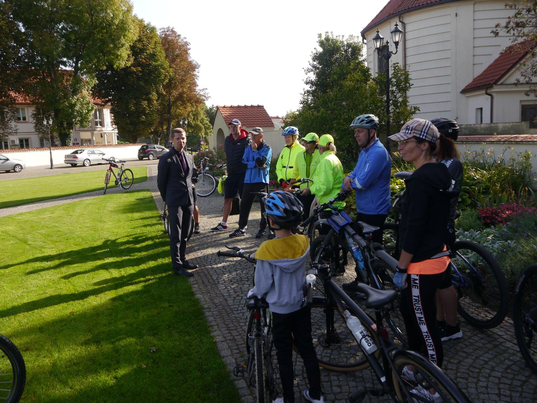 Rodzinny rajd rowerowy z okazji XXIII Dni Patrona Pułtuska św. Mateusza