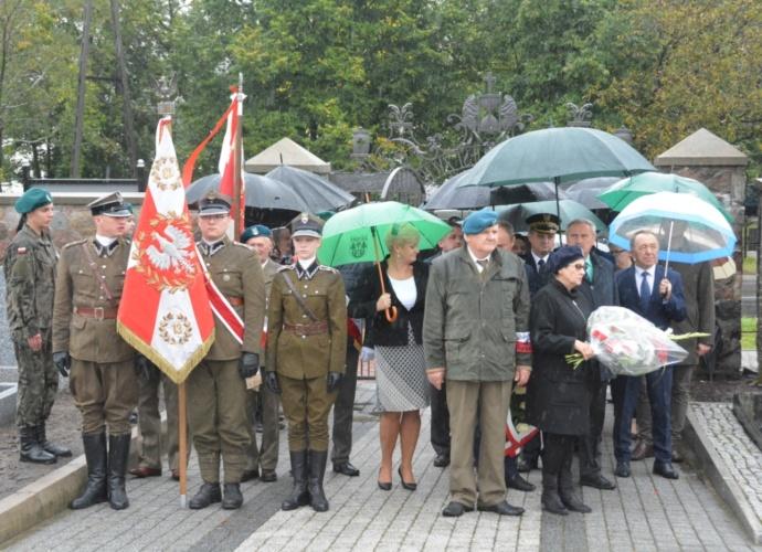 Uroczystość z okazji 27 września - Dnia Podziemia Państwa Polskiego