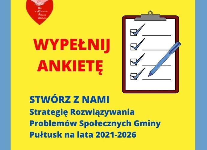 Strategii Rozwiązywania Problemów Społecznych Gminy Pułtusk na lata 2021-2026