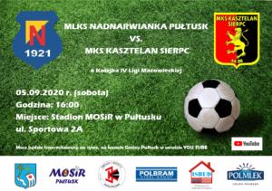 Mecz Nadnarwianka vs Kasztelan Sierpc @ Sportowa 2a