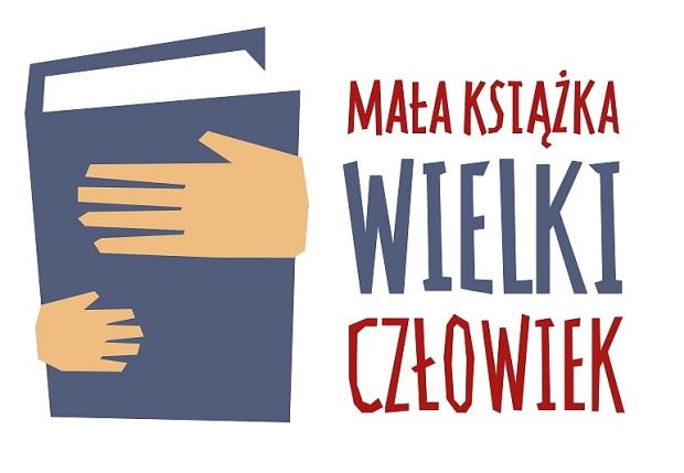 """Projekt """"Mała książka – wielki człowiek"""" - logoA"""