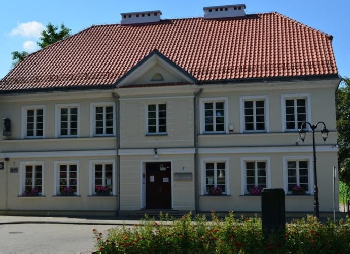 budynek Biblioteki Pułtusk