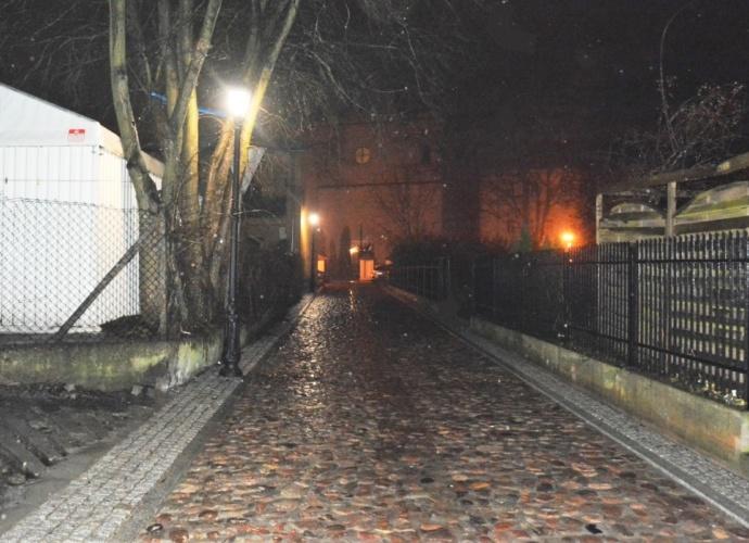 Latarnie na ulicy Konserwatorskiej