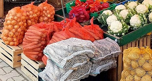 Targowisko - warzywa