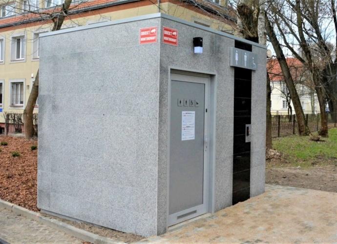 Toaleta publiczna przy ulicy Staszica