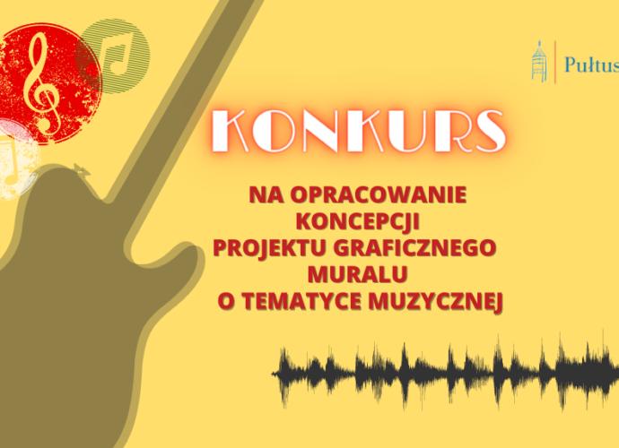 mural informacja o konkursie plakat