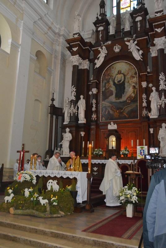 msza z okazji 10-lecia parafii